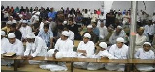 Audience at the Hajj Farewell Program