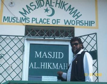 MASJID AL-HIKMAH Shaikh Shafayat at Masjid Al-Hikmah in JamaicaJuly 2010 - In a recent Da'wah trip to Jamaica, Shaikh Shafayat held talks with representatives of various Mosques pertaining to arranging Scholarships and Financial Aid for students interested in studying Islam.